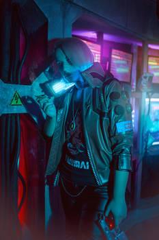 Cyberpunk 2077 -The biggest Samurai fan