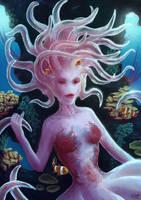 Friend of the Clown Fish by Natashane