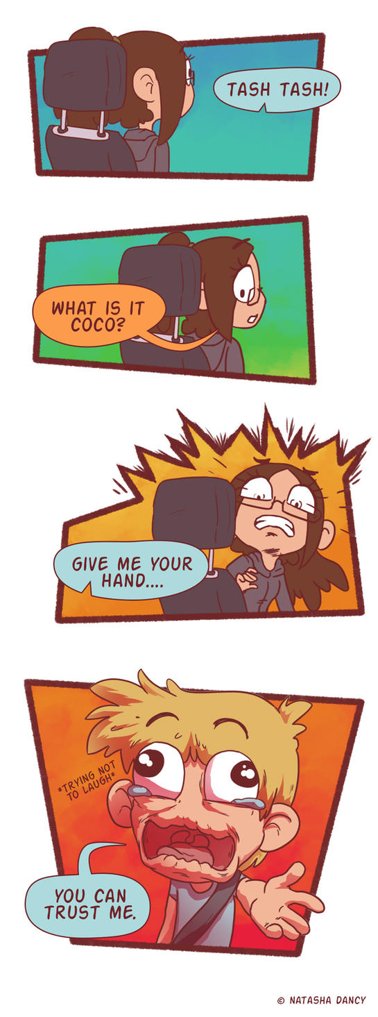 Trust. by TetheredComic