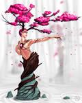 Dryad of the Zen Garden
