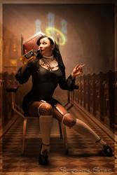 nuns have no fun? by SubcutanStef