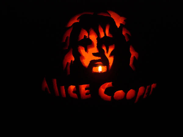 Alice Cooper Pumpkin by SSXprincess