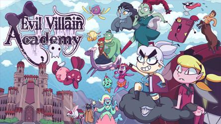 Evil Villain Academy Poster