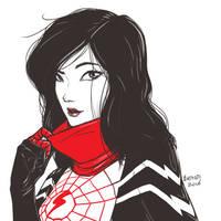 Silk fanart. by B-on-D