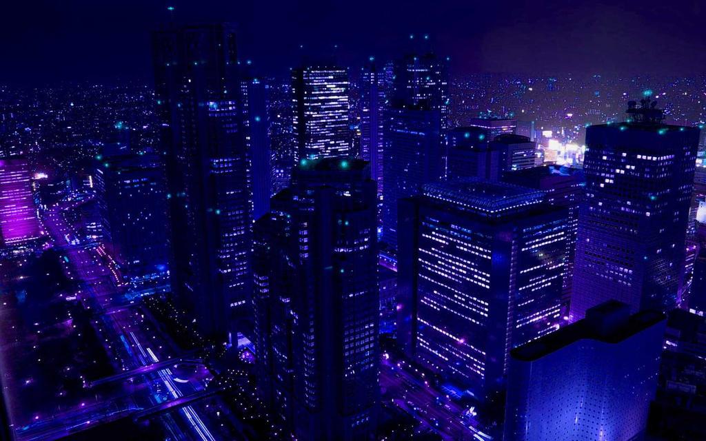 City Lights By Sonnytood
