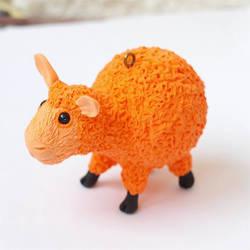 Christmas toy sculpture sheep symbol 2015 by koshka741