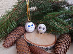 Christmas ornaments owls