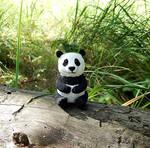 Panda Bear Figurine by koshka741