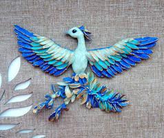 Blue Phoenix by koshka741