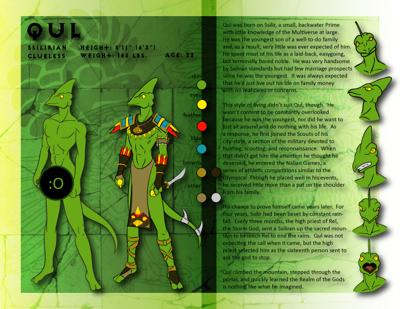 PS - Qul Character Sheet by kaitou-kage