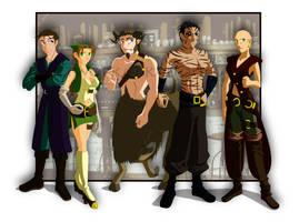 The Five Touts by kaitou-kage