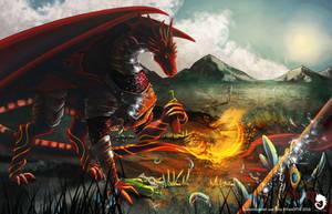 Commission - battlefield by FanOfTill