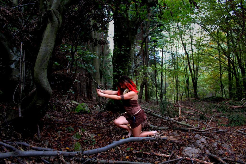Earth warrior by Elizadead