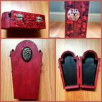 Rotten Love Coffin Box by CrimsonsCreations