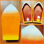 Candy Corn Coffin Box by CrimsonsCreations