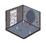 Silent Hill 4: The Room (Isometric) by CrimsonsCreations
