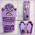 Ouija Coffin Box by CrimsonsCreations