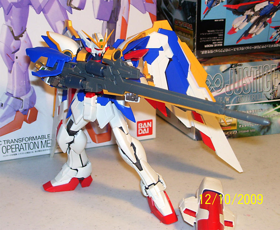 Wing Gundam Ver. Ka 1-100 MG by Renegade-V