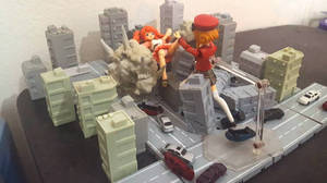 GTS  Uzume VS Mikuru - MIGHTY PUSH ATTACK