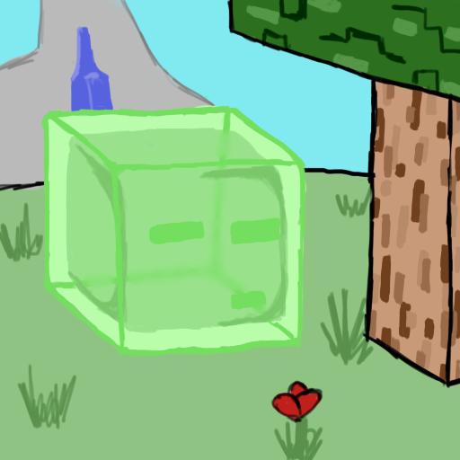 Speedart: Minecraft Slime by Drabble-Monster on DeviantArt
