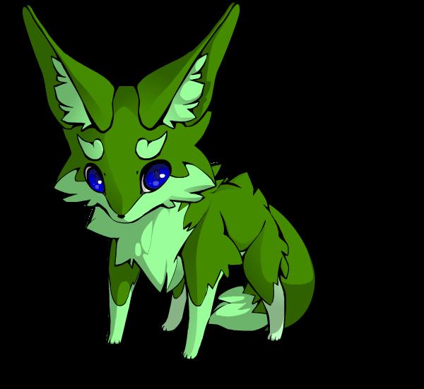 Cute Lil' Fox by Drabble-Monster