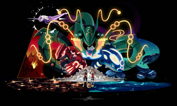 Ready 4 omega ruby alpha sapphire by CKibe