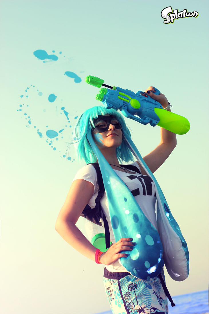 Inkiling girl Cosplay - Splatoon by CKibe