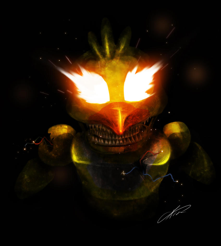 Jack o chica five nights at freddy s 4 by ckibe on deviantart