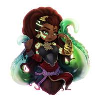 Illaoi - The Kraken Priestess by CKibe