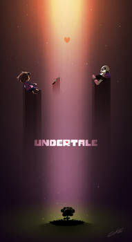 Undertale Poster by CKibe