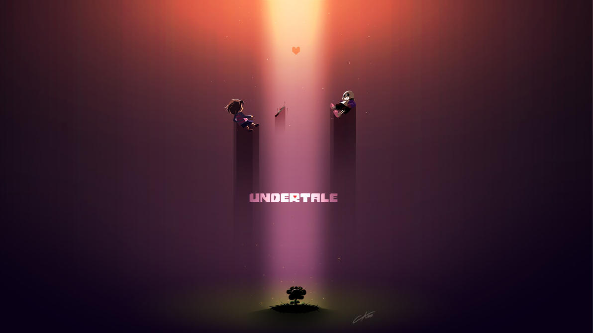 undertale wallpaper by ckibe on deviantart