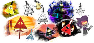 Bill cipher so many forms