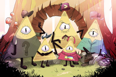Bill Cipher's family