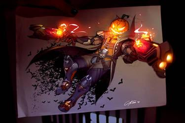 Pumpkin reaper Fanart