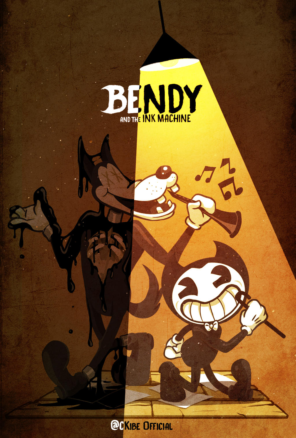 BENDY and the ink machine by CKibe on DeviantArt