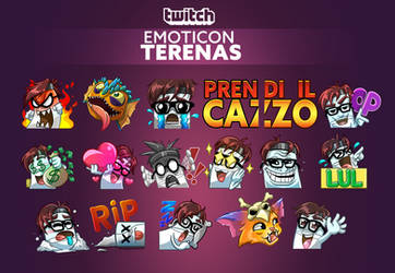 Twitch emoticon - Terenas
