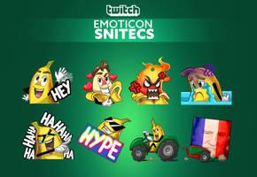 Twitch emoticon - Snitecs by CKibe