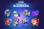 Twitch emoticon - Blazeraxel