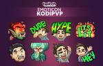 Twitch emoticon - Kodipvp