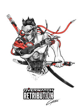 Genji - Blackwatch Skin from OVERWATCH