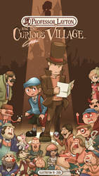 POSTER: Professor Layton and the curious village