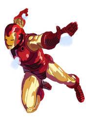 Iron Man- No Lineart by rockmicmusic