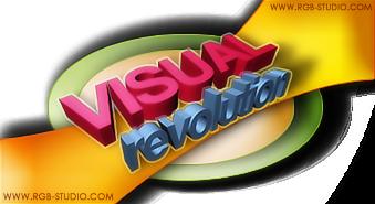 Visual Revolution Logo by sammuss