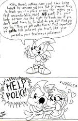 Sonic Says by Beau-Skunk