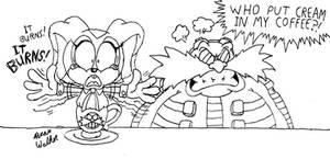 Eggman's wrong order of coffee