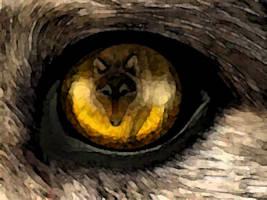 fox in wolf by phyroknight