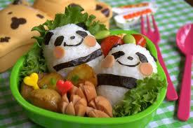 Panda Bento by TricolorflutesFTW