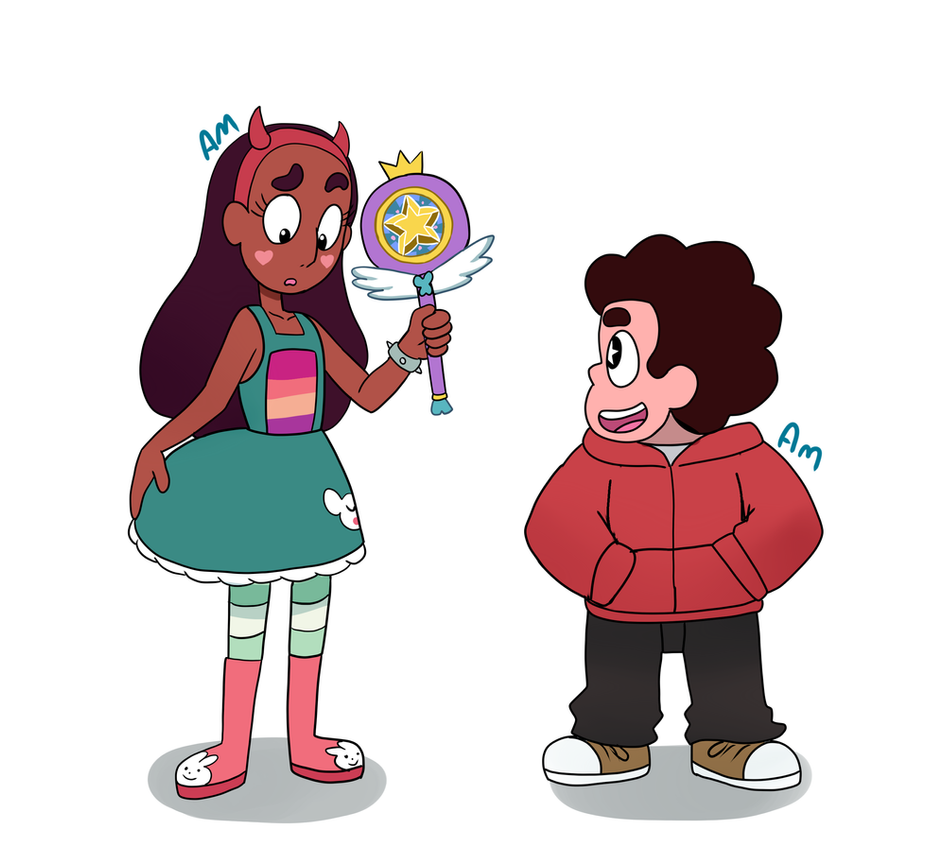 Steven Universe and Star vs the forces of evil