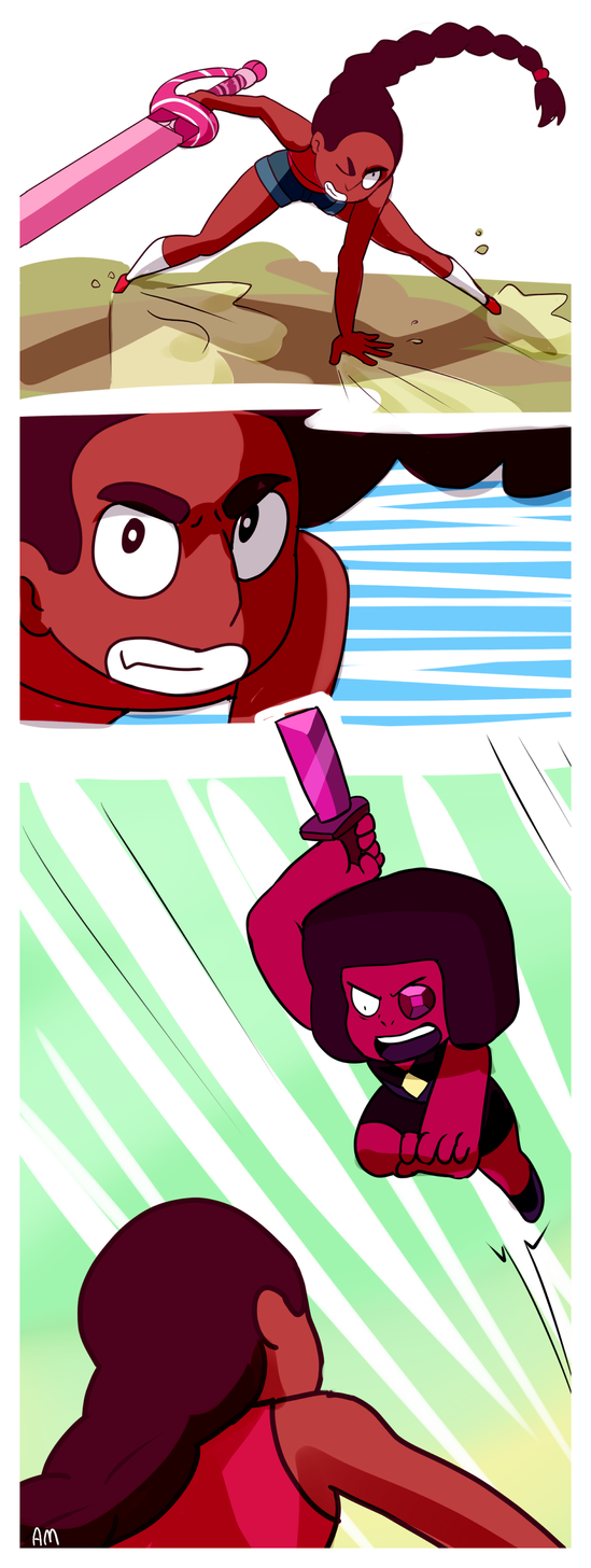 Connie Vs Eyeball Ruby By Angeliccmadness On Deviantart