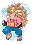 Super Saiyan 3 Steven